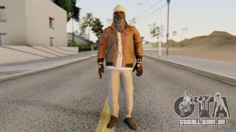 [BF Hardline] Gang Enforcer para GTA San Andreas segunda tela