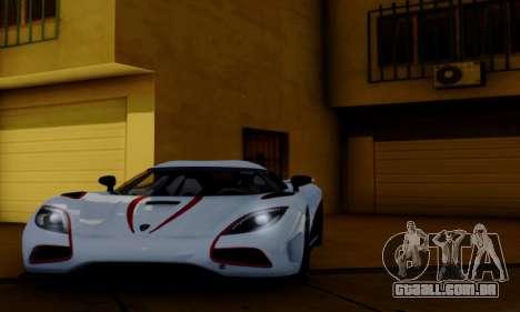 Inul ENB para GTA San Andreas por diante tela