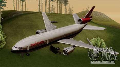DC-10-30 Swissair para GTA San Andreas
