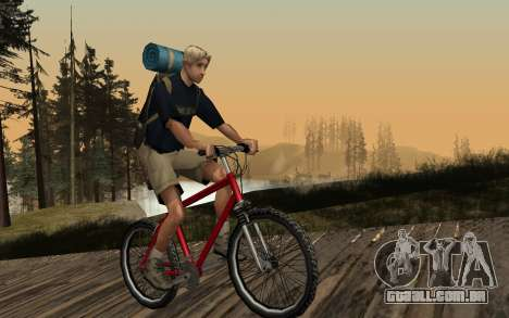 New Sky para GTA San Andreas