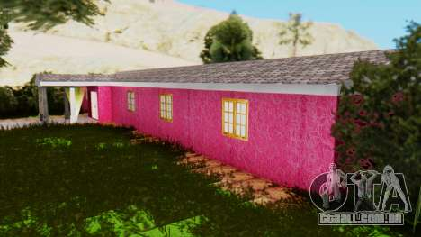 Novas texturas do clube, em Las Venturas para GTA San Andreas por diante tela