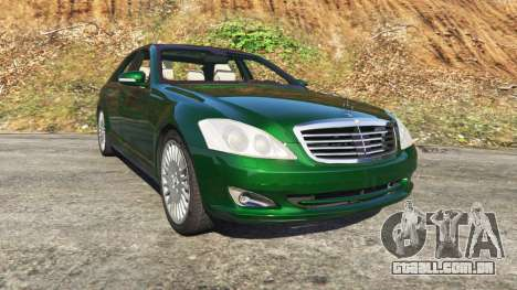 Mercedes-Benz S500 W221 v0.3.1 [Alpha] para GTA 5