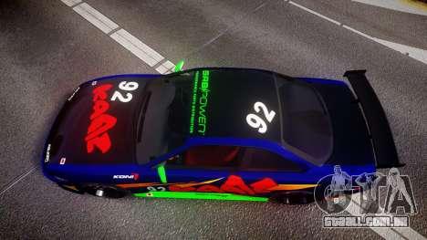 Nissan Silvia S14 para GTA 4 vista direita