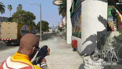 GTA 5 M-8 Avenger из Mass Effect 2 quinta imagem de tela