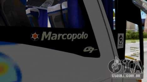 Marcopolo Bus Caribbean Travel para GTA San Andreas vista traseira