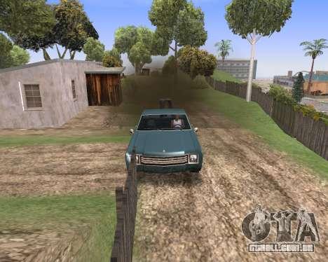 Blood Effects para GTA San Andreas segunda tela
