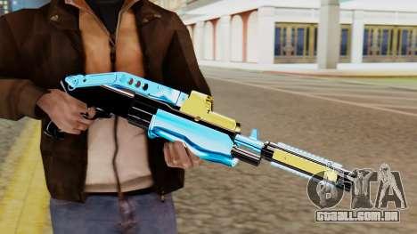 Fulmicotone Shotgun para GTA San Andreas terceira tela