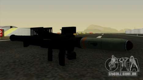 Homing Rocket Launcher para GTA San Andreas segunda tela