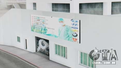 A Concessionária MAGR-Auto para GTA San Andreas por diante tela