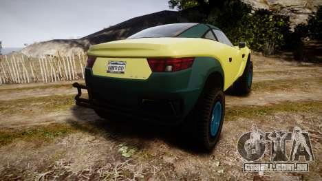 GTA V Coil Brawler para GTA 4 traseira esquerda vista