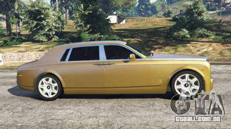 GTA 5 Rolls-Royce Phantom EWB v0.6 [Beta] vista lateral esquerda