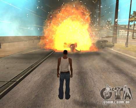 HQ Effects and Sun Final Version para GTA San Andreas quinto tela