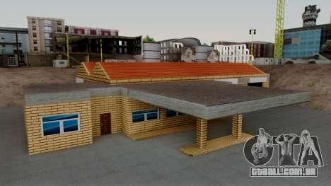 Novas texturas da antiga garagem em Doherty para GTA San Andreas segunda tela