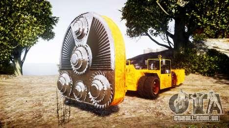 GTA V HVY Cutter para GTA 4