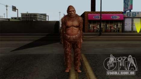 GTA 5 Bigfoot para GTA San Andreas segunda tela