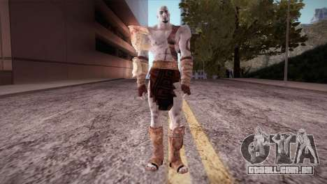 God Of War 3 Kratos para GTA San Andreas