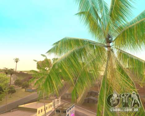 Palmeiras de Crysis para GTA San Andreas
