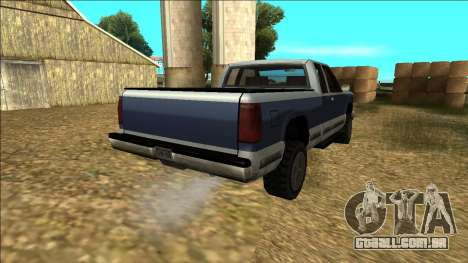 New Yosemite v2 para vista lateral GTA San Andreas