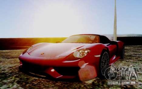 ENB Series HQ Graphics v2 para GTA San Andreas terceira tela