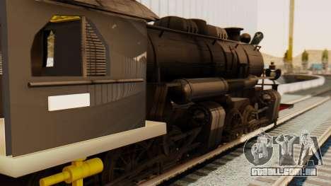 CC5019 Indonesian Steam Locomotive v1.0 para GTA San Andreas vista direita