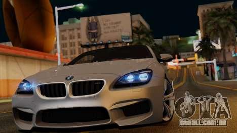 BMW M6 2013 v1.0 para as rodas de GTA San Andreas