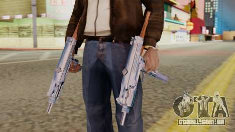 IMI Uzi v2 SA Style para GTA San Andreas terceira tela