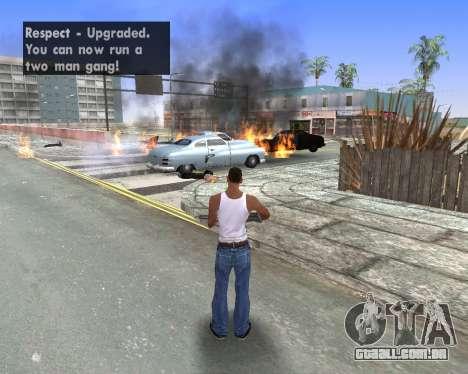 Blood Effects para GTA San Andreas sexta tela