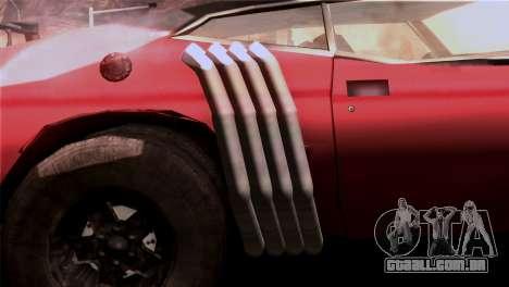 Ford Falcon XA Red Bat Mad Max 2 para GTA San Andreas vista interior