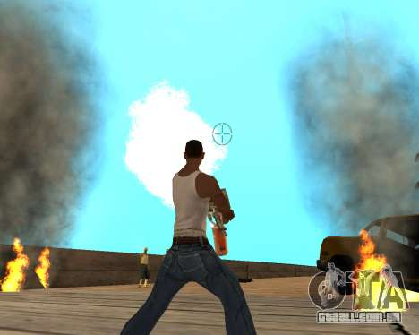HQ Effects and Sun Final Version para GTA San Andreas sétima tela