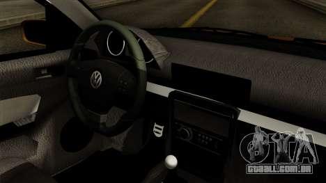 Volkswagen Golf 2004 Edit para GTA San Andreas vista direita