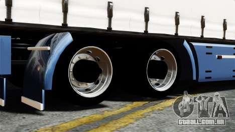 Renault Magnum para GTA 4 vista de volta
