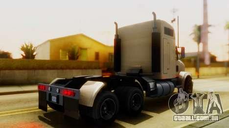 GTA 5 MTL Packer Trainer IVF para GTA San Andreas traseira esquerda vista