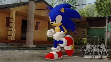 Sonic the Hedgehog HD para GTA San Andreas