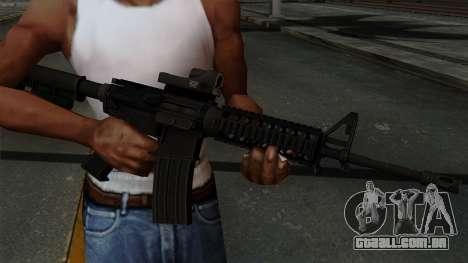 AR-15 Elcan para GTA San Andreas terceira tela