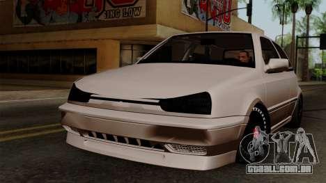 Volkswagen Golf 3 Shine para GTA San Andreas