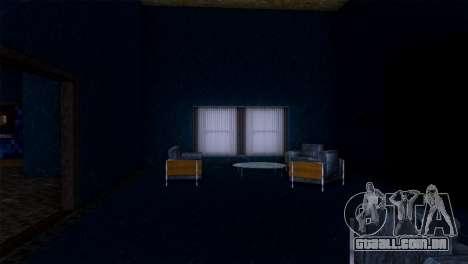 Retextured interior da mansão de MADD Dogg para GTA San Andreas sétima tela