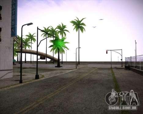 Professional Graphics Mod 1.2 para GTA San Andreas por diante tela