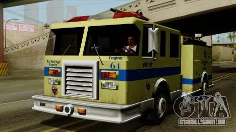 SAFD SAX Airport Engine para GTA San Andreas