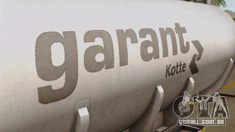 Trailer Kotte Garant para GTA San Andreas vista traseira