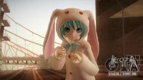 Miku Bunny para GTA San Andreas