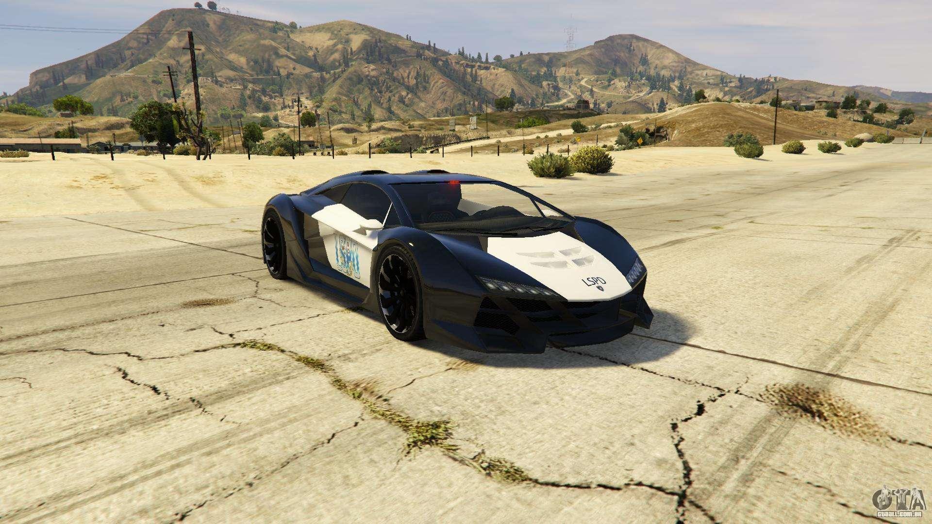 Lamborghini Police Zentorno Lspd V3 0 Para Gta 5