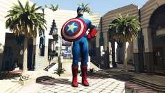 Estátua Do Capitão América