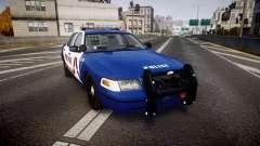 Ford Crown Victoria Alderney Police [ELS]