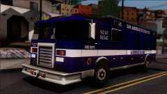 FDSA Hazardous Materials Squad Truck para GTA San Andreas