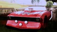 Ford Falcon XA Red Bat Mad Max 2