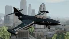 Grumman F9F-5 Phanter para GTA San Andreas