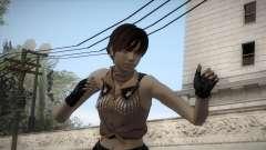 Resident Evil HD - Rebecca Chambers Cowgirl para GTA San Andreas
