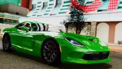 Dodge Viper SRT GTS 2013 IVF (MQ PJ) No Dirt para GTA San Andreas
