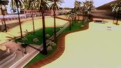 Nova praia em Los Santos
