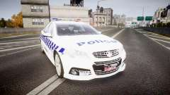Holden VF Commodore SS NSW Police [ELS] para GTA 4